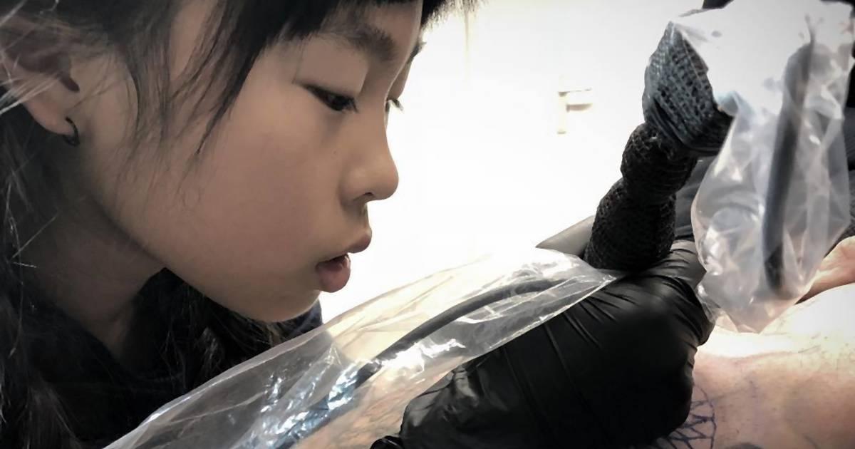 Die 10-jährige Tätowiererin Noko Nishigaki im NOIZZ-Interview