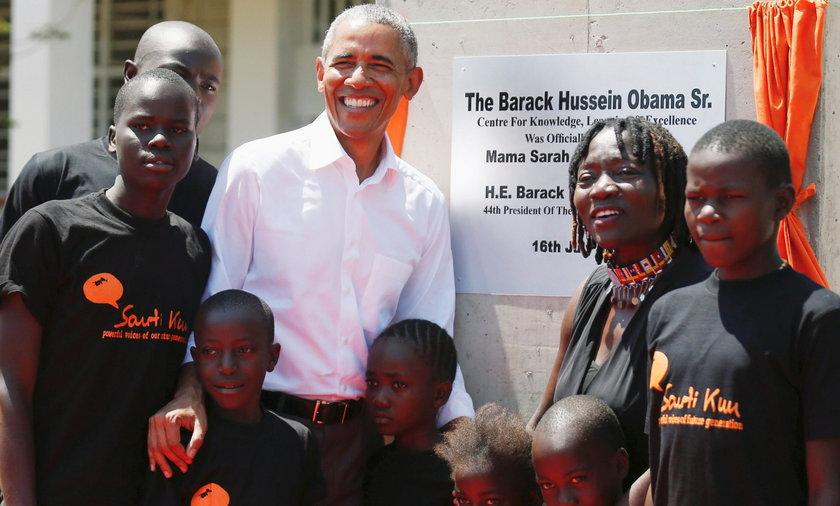 Obama w Kenii