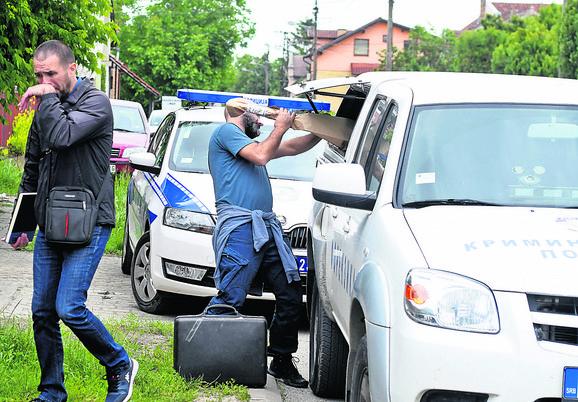 Policijski uviđaj u Novom Sadu