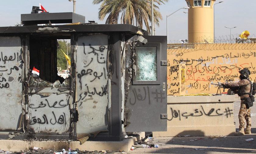 Rośnie napięcie w Iraku po zabiciu przez Amerykanów irańskiego generała