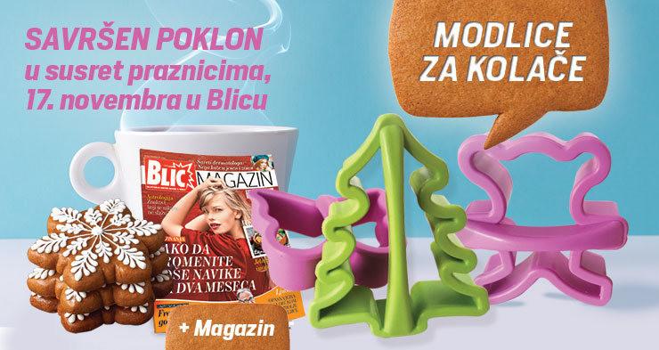 """Modlice za kolače na poklon u """"Blicu"""""""