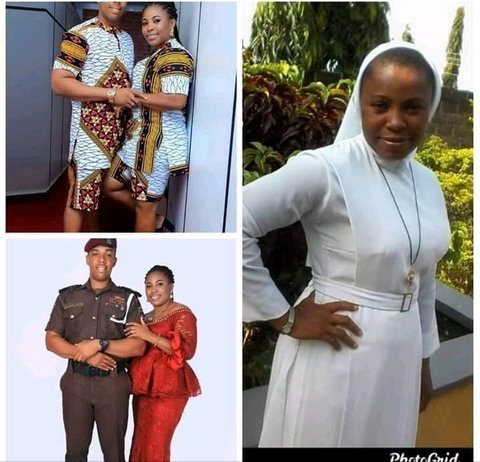 Reverend Sister quits her religious profession to marry a police officer
