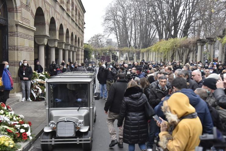 Džej Ramadanovski - sahrana