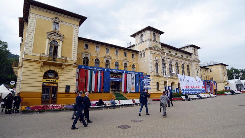 Forum w Krynicy.
