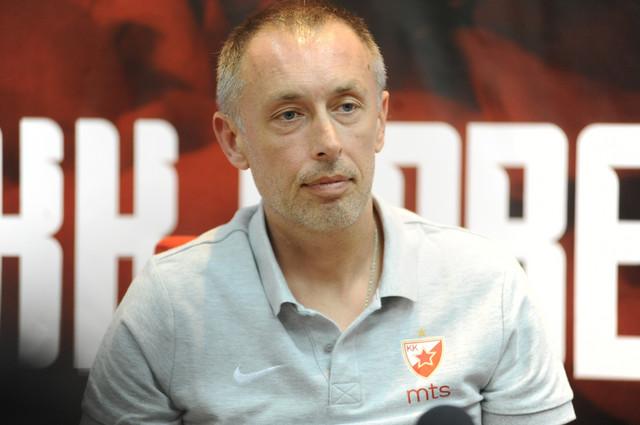Milan Tomić, trener KK Crvena zvezda