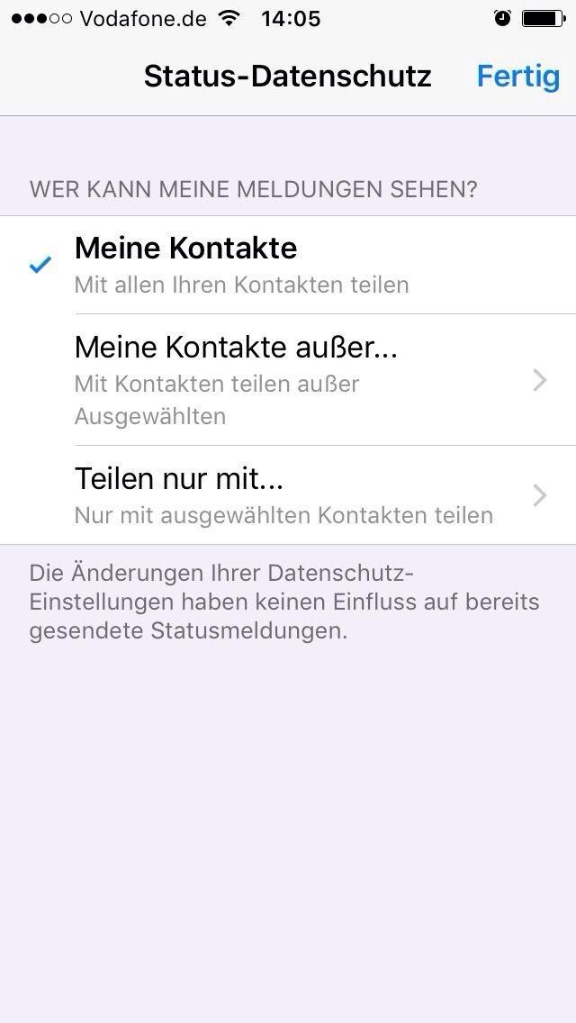 So Funktioniert Der Neue Status Bei Whatsapp Noizz