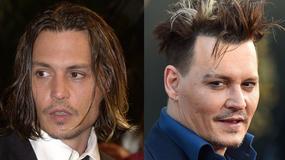 Johnny Depp skończył 54 lat. Jak zmieniał się aktor?