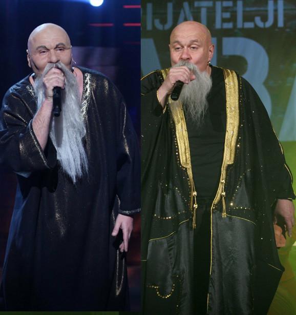 Knez (levo) kao ubedljiva kopija pravog Luisa