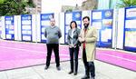 """Izložba """"Arhivirana arhitektura"""" na gradskom trgu u Šapcusa otvaranje izložbe"""