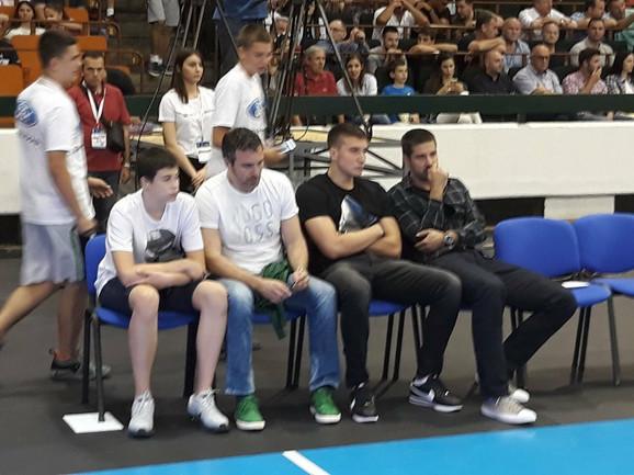 Bogdan Bogdanović je stigao pola sata ranije kako bi pružio podršku