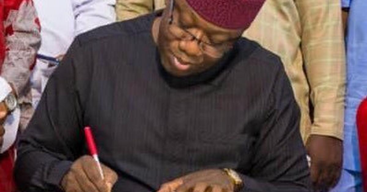 Fayemi says Ekiti spends N4.5b to boost school enrollment in 11 months - Pulse Nigeria