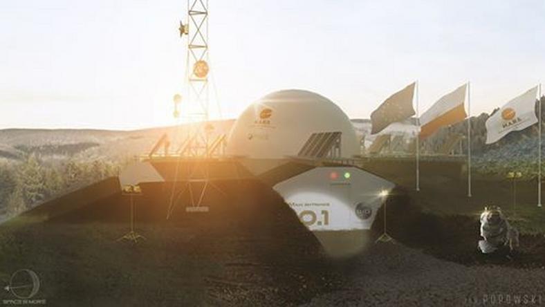 Baza kosmiczna powstaje w Rzepienniku Strzyżewskim
