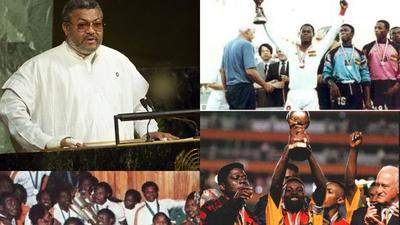 You will get a perfect score if you are an admirer of J.J Rawlings passion for sports