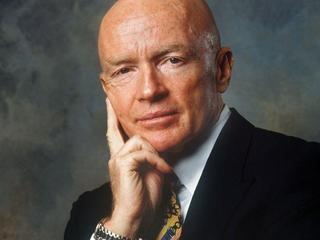 Dr Mark Mobius, prezes Templeton Emerging Markets Group