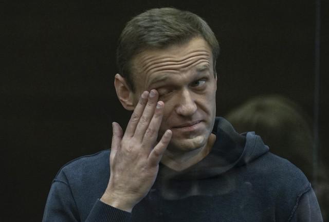 Aleksej Navaljni na sudu