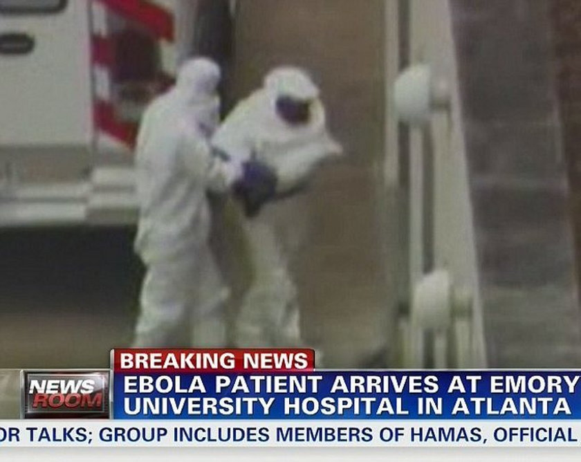Wirus Ebola w USA