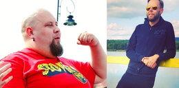 """Mateusz z """"Gogglebox"""" schudł ponad 160 kg. Teraz pokazał swoje ciało na plaży!"""