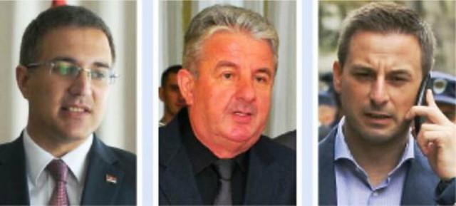 Bez komentara:Nebojša Stefanović, Milorad Veljović i Veselin Milić