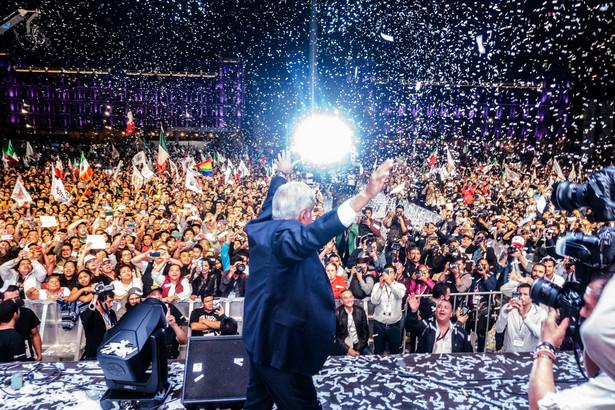 Andres Manuel Lopez Obrador, zwycięzca wyborów prezydenckich w Meksyku