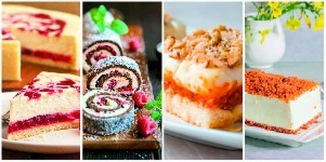 Ukusne torte i kolači koji se ne peku