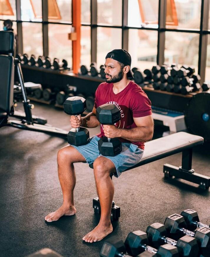 Mohammad Adil Abdool will on Saturday, July 31 attempt to set a new record  for most burpees done in 12 hours. | Pulselive Kenya