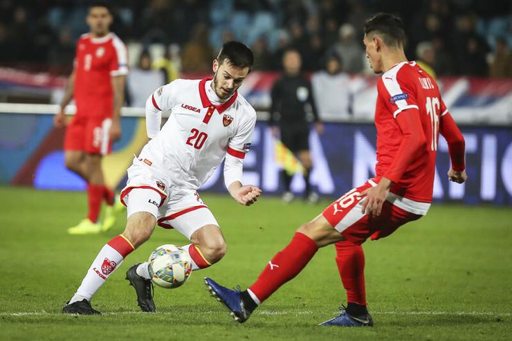 Ivanić na utakmici Srbije i Crne Gore