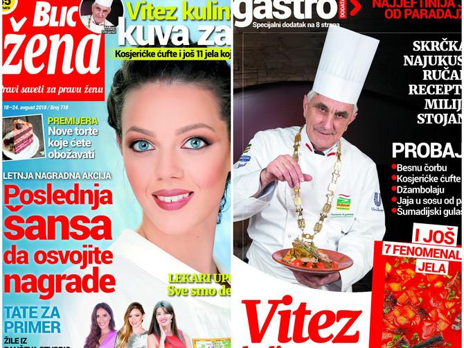 """U novoj """"Blic ženi"""" potražite recepte kuvara Milijana Stojanića za kosjerićke ćufte i još 11 najjeftinijih jela od paradajza"""