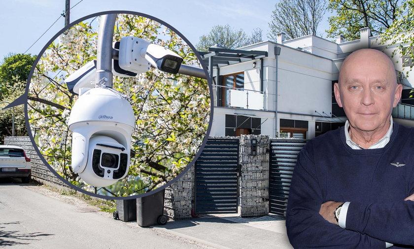 Chińskie kamery  przy willi Andrzeja Dudy. Dziewulski: To niebezpieczne dla prezydenta