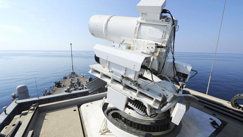 Brytyjczycy inwestują w broń laserową