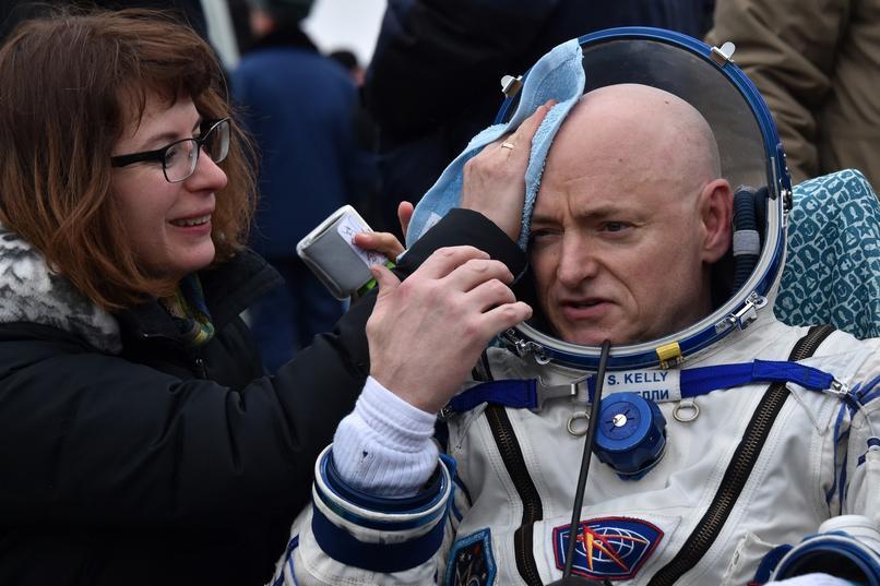 Scott Kelly po powrocie na Ziemię