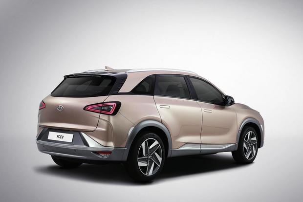Hyundai FCEV - premiera samochodu podczas wystawy CES w Las Vegas. Wówczas poznamy nazwę i dane techniczne