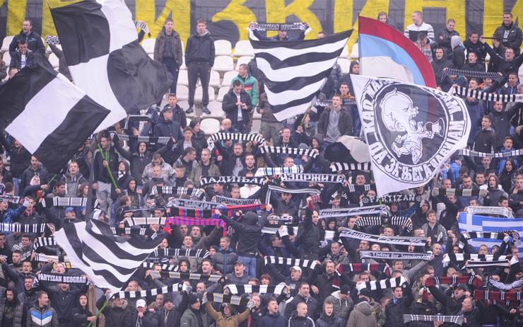 Grobari, Partizan