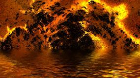 Spektakularny pożar Moskwy