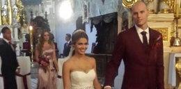 Ślub polskiego koszykarza. Było bajecznie!