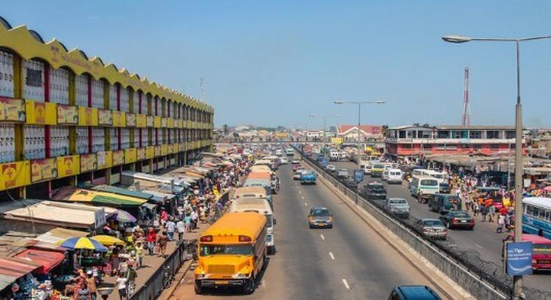 Kaneshie market ( southern Ghana)