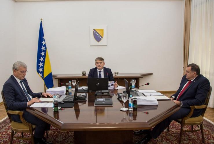 Predsednistvo BiH sednica