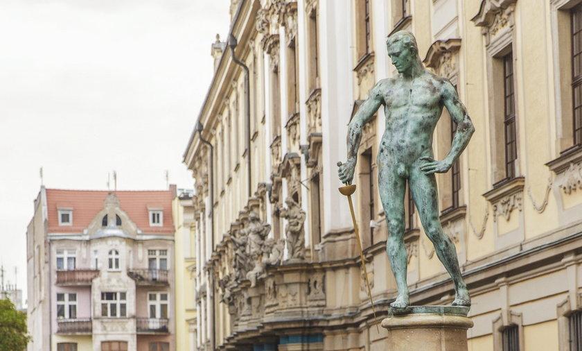 Pomnik Szermierza pl. Uniwersytecki