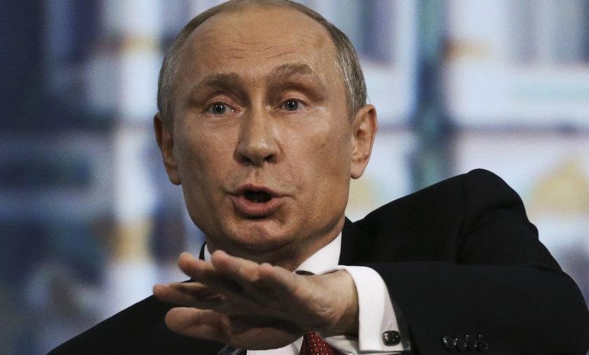 Putin u Hollande w Paryżu
