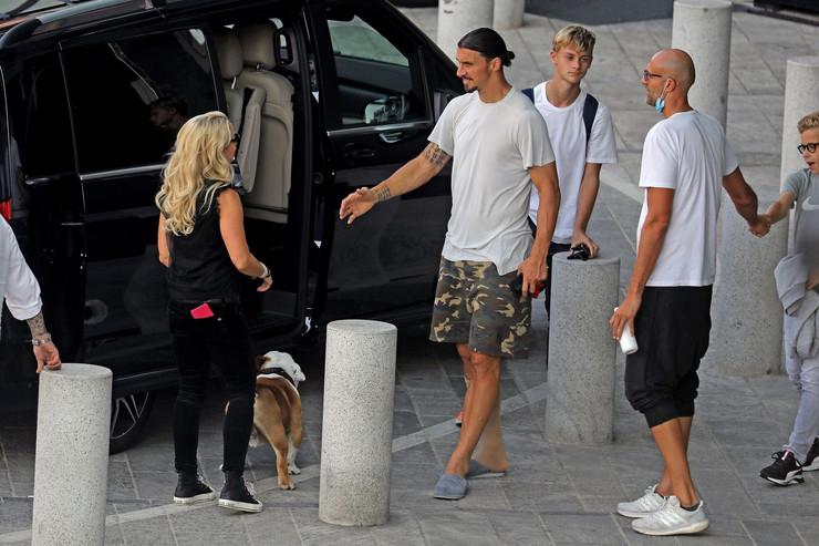 Zlatan Ibrahimović i Helena Seger