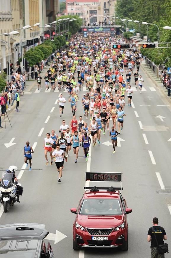 Detalj sa maratona u Banjaluci