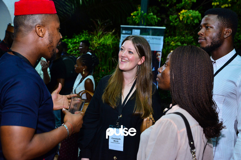 Attendees as The British Council's celebrates the end of the first phase of the Nigeria Creative Enterprise Support Programme on Thursday, January 24, 2019.