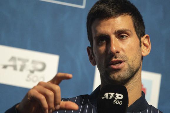 """""""NEKA DRUGI PRIČAJU O TOME!"""" Novak najavio NAPAD na Federerov rekord i zapalio teniski svet OVIM REČIMA! /FOTO/"""