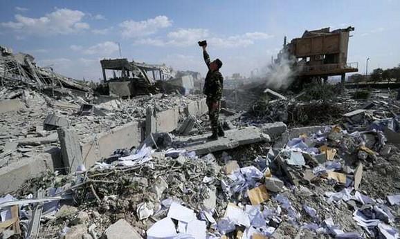 Sirija posle bombardovanja