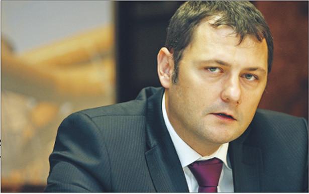 Krzysztof Zamasz, wiceprezes zarządu Tauron Polska Energia, tłumaczy, że ceny prądu w przyszłym roku będą zależały od ceny węgla, które właśnie są w negocjacjach Fot. Andrzej Grygiel/PAP