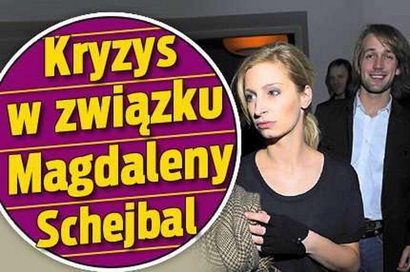 Kryzys w związku Magdaleny Schejbal