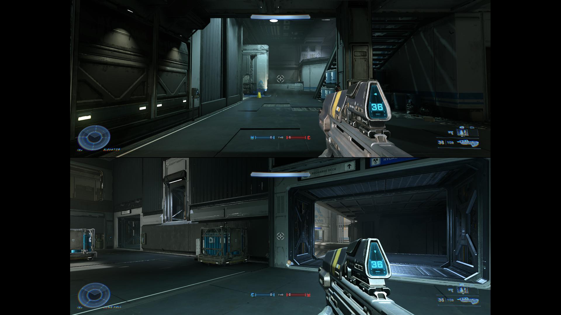 V režime rozdelenej obrazovky sme okamžite spozorovali nižšiu mieru detailov.