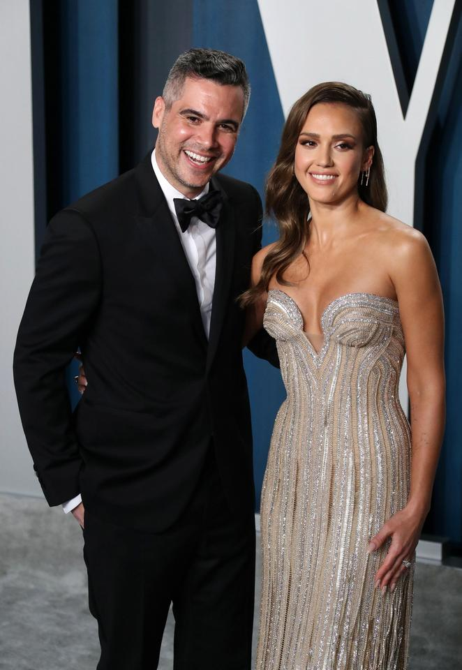 Jessica Alba i Cash Warren