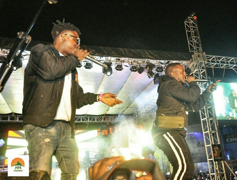 M.I performing at Jos Chillin' Mega Fiesta 2019