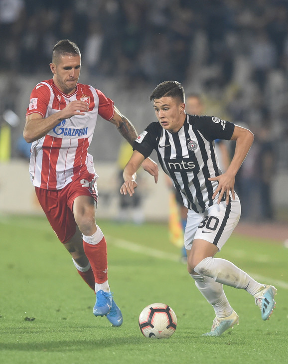 FK Crvena zvezda, FK Partizan, večiti derbi