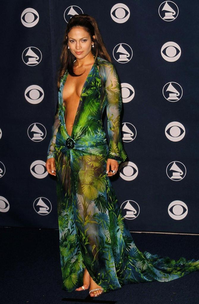 Dženifer Lopez na dodeli Gremi nagrada 2000. godine